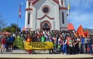 Cientos de jóvenes peregrinan a Sotaquí