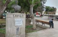 Sujeto que rayó edificio histórico en La Serena fue formalizado y quedó en prisión preventiva