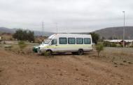 Con la ayuda del GPS  encuentran en Ovalle minibús robado en el norte