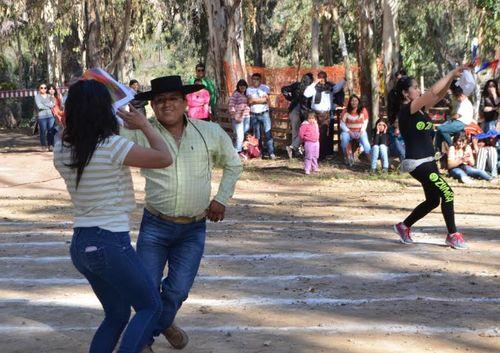 Monte Patria comienza celebraciones con juegos populares