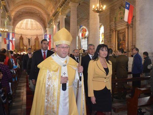 Monseñor René Rebolledo pidió ayudar en forjar una cultura del cuidado del agua