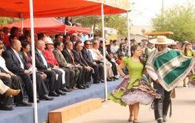 Punitaqui celebró los 204 años de Chile