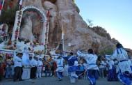 Fieles de la región se preparan para asistir a la fiesta de la Virgen de la Piedra