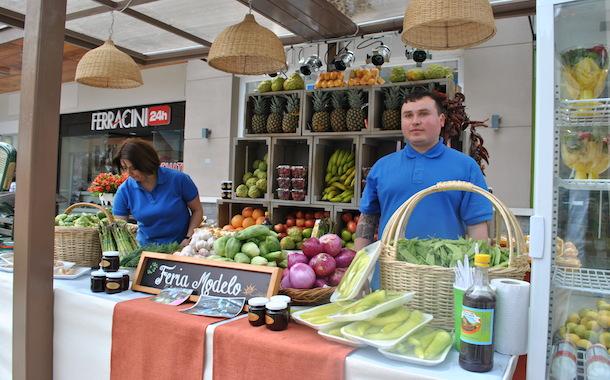 El stand de la Feria Modelo de Ovalle fue uno de los más visitados (Foto OvalleHOY.cl)