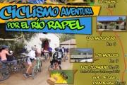 Con cicletada turística invitan a conocer el valle del río Rapel