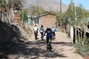 Turisteando en dos ruedas por el valle de Rapel
