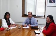 Abordan proyecto de planta desaladora con Ministro de Obras Públicas