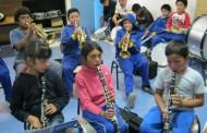 Banda Estudiantil de la escuela de Lagunillas inicia presentaciones en la comuna de Ovalle