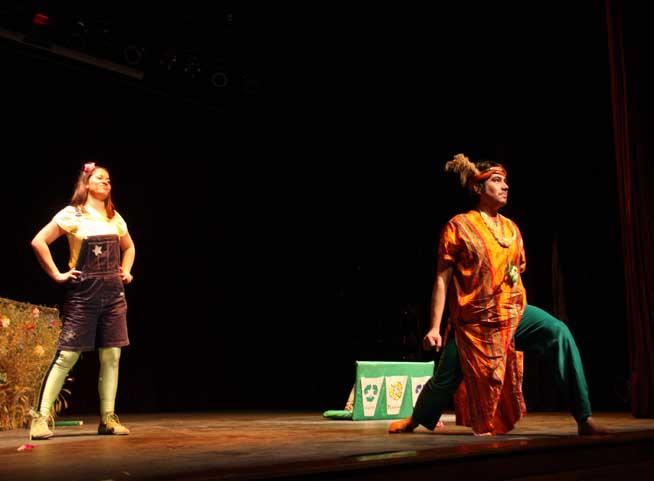 Con obra de teatro invitan a ni os ovallinos a cuidar el for La cocina obra de teatro