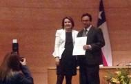 Abogado ovallino recibe alta distinción de la Facultad de Derecho de la U. de Chile