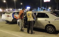"""Hacen fiscalización nocturna de vehículos """"enchulados""""  y cursan 22 """"partes"""""""