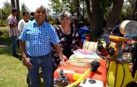 Familias campesinas de Ovalle son beneficiadas con maquinaria agrícola