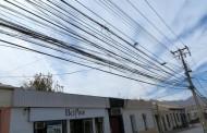 Lector de La Serena: Los cables que afean el centro de Ovalle