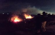 Preocupación por incendio en la Quebrada del Ingenio