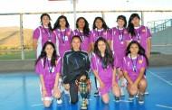 Colegio La Providencia campeón regional de basquetbol escolar
