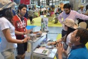 Oferta turística limarina destacó en Feria VYVA 2014 en Santiago