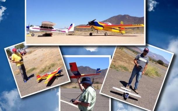 Aeromodelismo en Ovalle!!… una actividad que toma vuelo