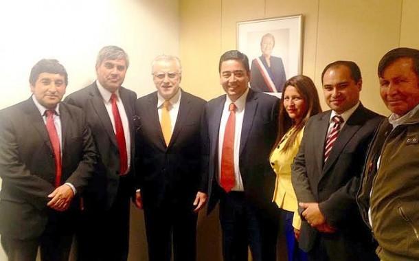 Ministro de Energía  anunció visita a Combarbalá