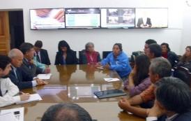 Subsecretario del Interior conoció dramática situación de pequeños productores por la sequía