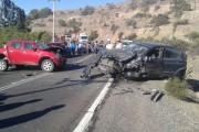 Cuatro lesionados en colisión en sector Recoleta: entre ellos una niñita