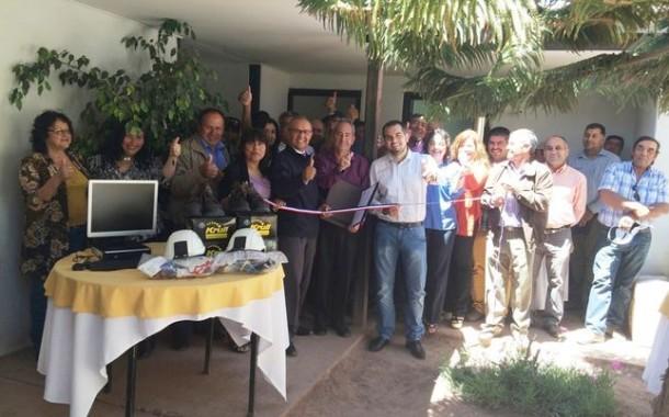 Pirquineros de Río Hurtado la hacen de oro: inauguran nuevas oficinas