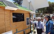 Casita ecológica: el novedoso proyecto que asombró a más de 3 mil personas de la provincia