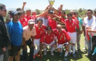 Viejitos del Deportivo Romeral alzaron la copa Hanna Jarufe