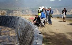 Destacan inversión histórica en geomembranas para el Limarí