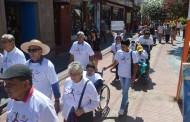 En Combarbalá realizan caminata por la inclusión
