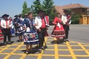 El Guindo y Cerrillos de Tamaya reciben a la Compañía Folclórica Aukan