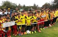 Jovenes talentos del fútbol de Argentina, Perú y Chile compiten por la 24° Copa Ovalle