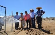 24 familias de Combarbalá se benefician con proyecto de riego asociativo