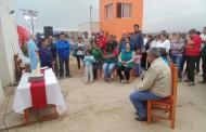 Vecinos de Caleta San Pedro reciben como agradecimiento imagen de su santo patrono