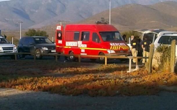 Caracterizados como bomberos en emergencia narcos querían pasar cargamento de droga
