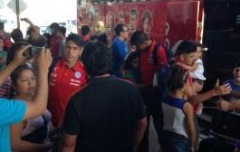 """En Combarbalá sacan pecho con crack de la """"rojita"""" Sub- 17 de futbol que viajó a Paraguay"""