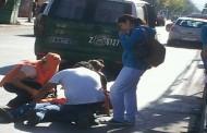 Vehículo atropella a mujer y se da a la fuga