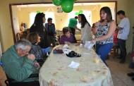 Jóvenes ovallinos compartieron una mañana con adultos mayores