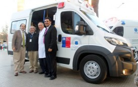 Entregan oficialmente cinco nuevas ambulancias a Hospital de Ovalle