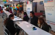 Municipio ovallino llevó sus servicios hasta la villa El Mirador Departamentos