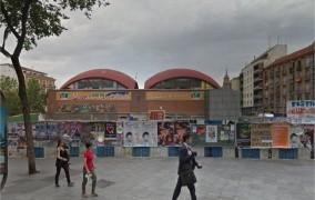 Madrid, Mercado de la Cebada. Todo por una cebolla