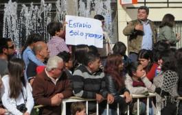 Hinchas detenidos por reclamar un estadio desmienten ingesta de alcohol