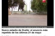 TVN : el del Estadio de Ovalle es el anuncio más repetido de los últimos 21 de Mayo