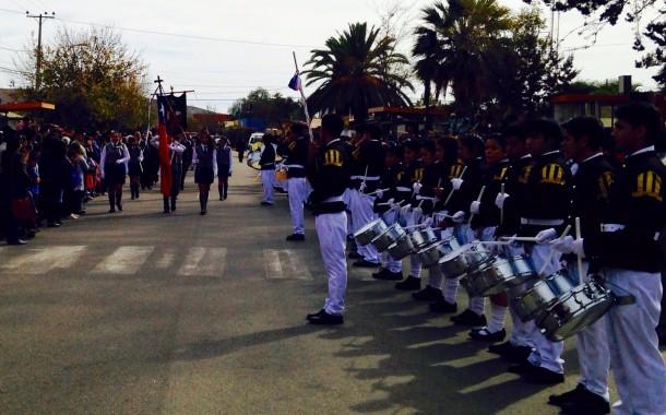 Punitaqui y Ovalle homenajearon a los Héroes de Iquique