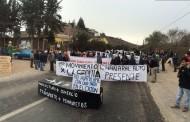 Organizaciones de Monte Patria se toman la carretera por falta de medidas contra la sequía
