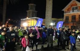 Más de 300 personas participaron en la tercera corrida nocturna del año
