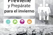 ONEMI llama a prepararse ante sistemas frontales que afectarán al  sur y centro del país.