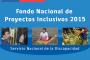 Nuevo plazo de postulación al Fondo Nacional de Proyectos Inclusivos 2015