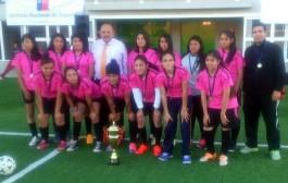 Muchachas del Liceo Agrícola se coronan campeonas  de Provincial de Fútbol escolar.