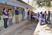 Monte Patria realiza operativo social por las últimas lluvias