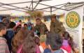 Feria de seguridad en escuela básica El Guindo